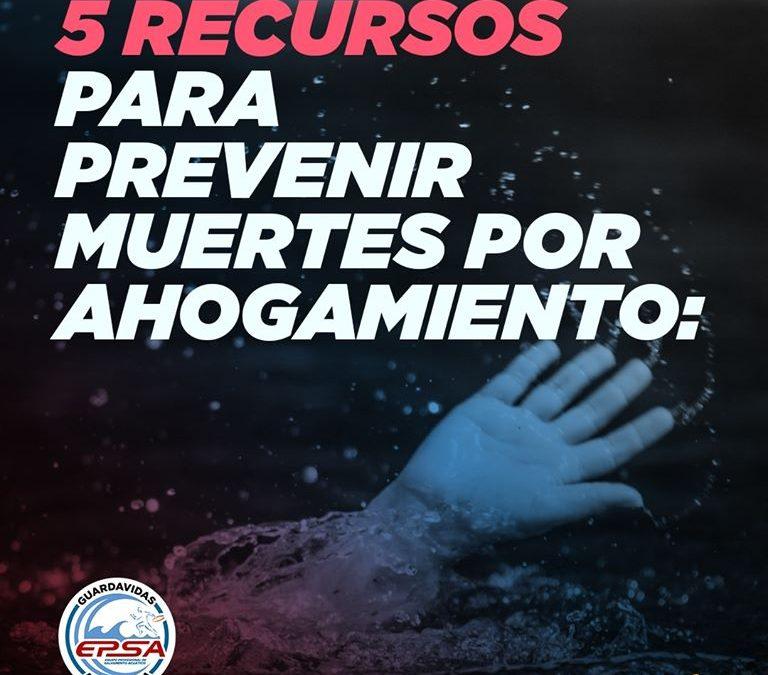Semana LatinoAmericana de la Prevención del Ahogamiento – Día 1