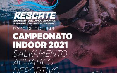 Campeonato Indoor 2021 Salvamento Acuático Deportivo